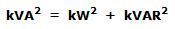 kVA, kW and kVAR