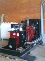Baldor Generator installed Dairy Farm Abbotsford