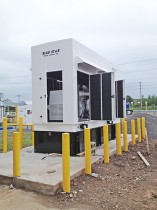 Generator Installed at LNG Filling Station