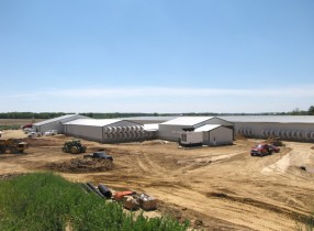 Generator Powering a Dairy Farm in Wisconsin