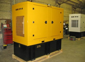 Generator Provided for Railway Cars