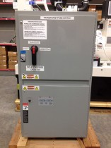 installing single sided bypass asco transfer switch