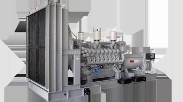 MTU Industrial Generator