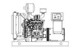 Prima - Blue Star - JD 60kw Generator