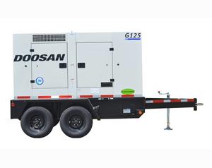 Doosan G125WCU 3Q T4i 103kW Generator