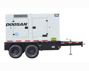Doosan G70WCU 3A T4i 62kW Generator