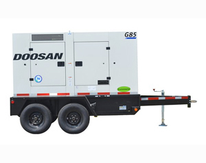 Doosan G85WCU 3A T4i 83kW Generator
