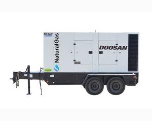 Doosan NG160 Natural Gas 130kW Generator