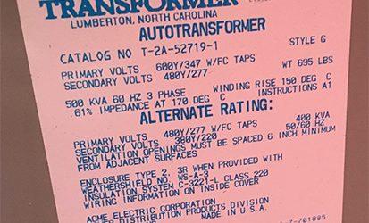 600v-Auto-Transformer