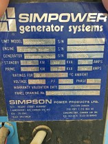 Prima Power Systems - Simpower Generator