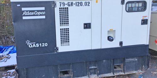 Atlas Copco QAS120 Generator
