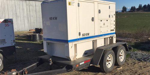 USED 60 kW Diesel Generator