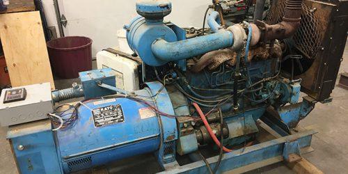 Rebuilt Kato Diesel Generator