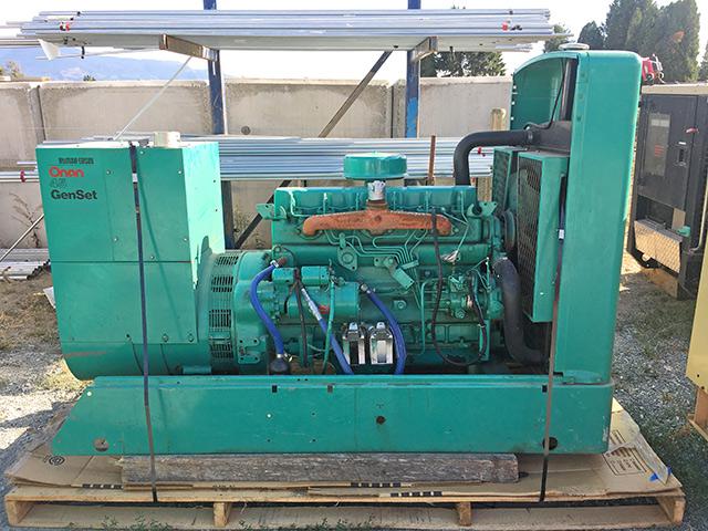 Onan 45 Diesel Generator - Prima Power Systems Inc