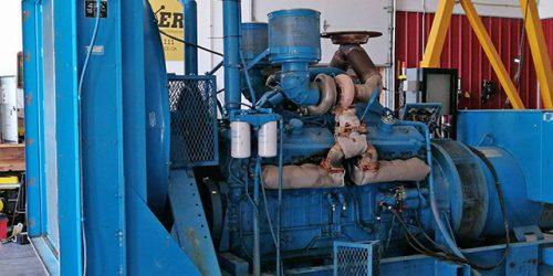 Open Power Unit 750 kW Detroit Diesel