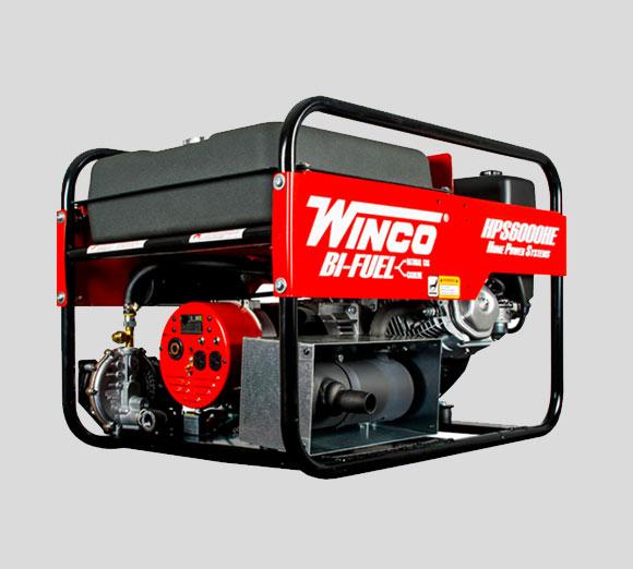 HPS9000VE-03-A Tri-Fuel Generator