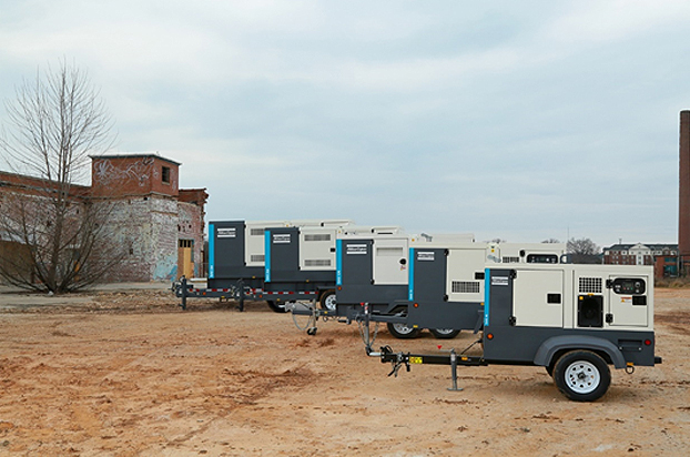 atlas copco mobile and towable generators