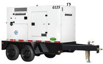 125 kVA|100kW mobile generator