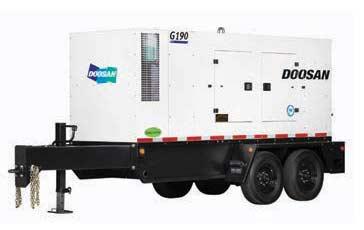 181 kVA|145kW doosan-g190 generator