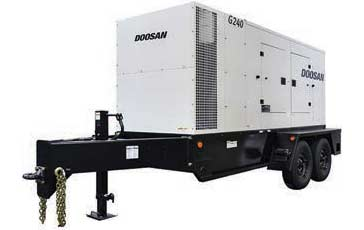 doosan generator 235 kVA|188kW doosan-g240