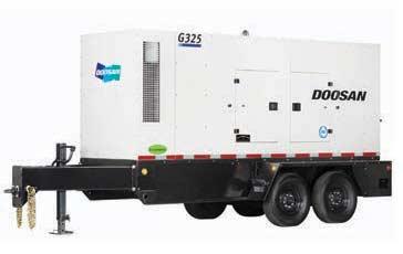 334 kVA|267kW Doosan g325 generator
