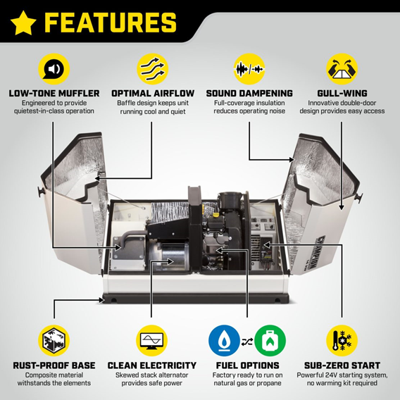 Champion Generator Features