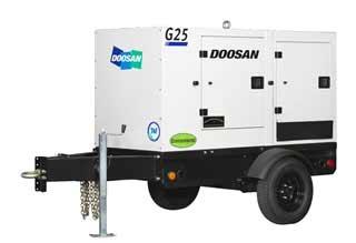 Doosan Mobile/Towable Generator