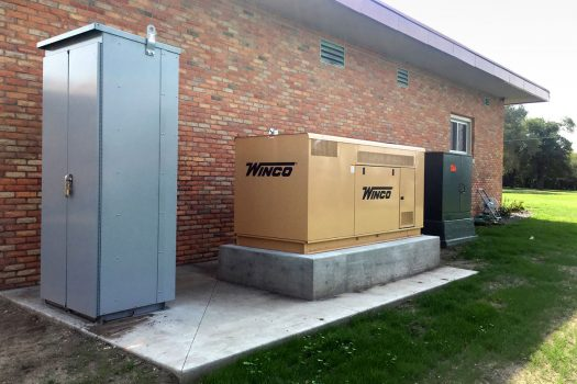 CamWal Electric Compressed WINCO Residential Generators